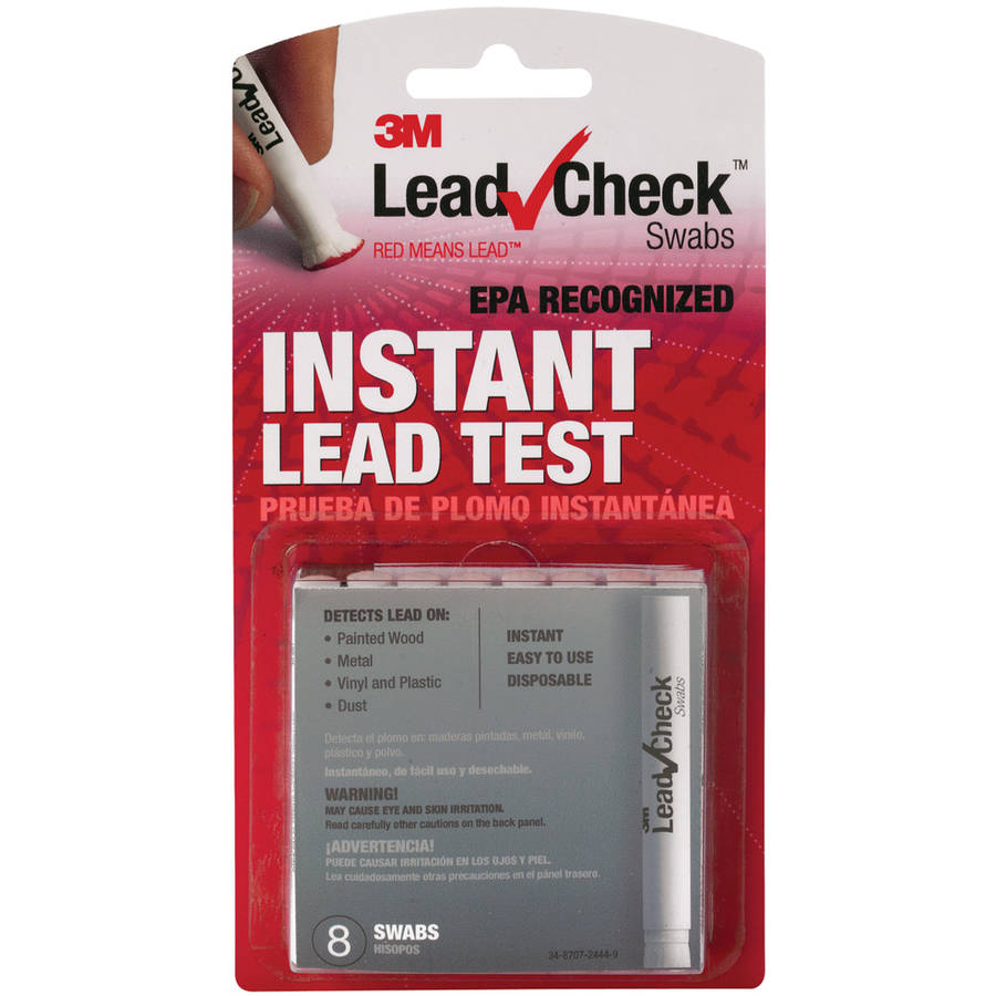 3M LC-8S10C LeadCheck Swabs, 8-Count