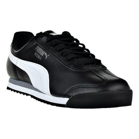 8867a421b06 Buy Puma Roma Basic Men s Shoes Black-White-Puma Sliver 353572-11 ...