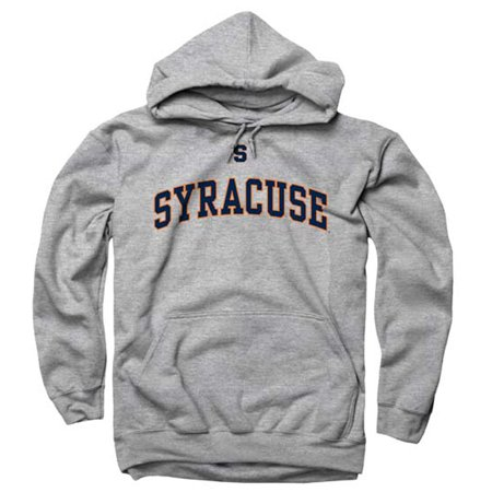 Syracuse Orange Icon Arch Hooded Sweatshirt   Sport Gray
