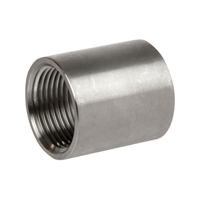 Smith Cooper 4810362 1 in. Thread Stainless Steel Coupling - image 1 of 1