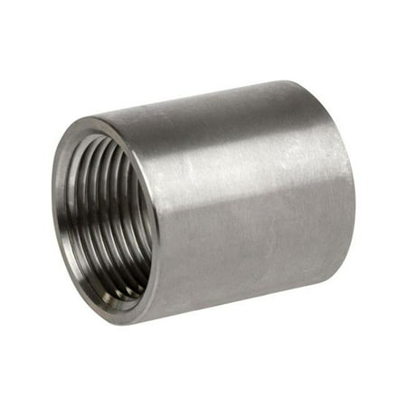 Smith Cooper 1 in FPT x 1 in Dia FPT Stainless Steel Coupling Case Of