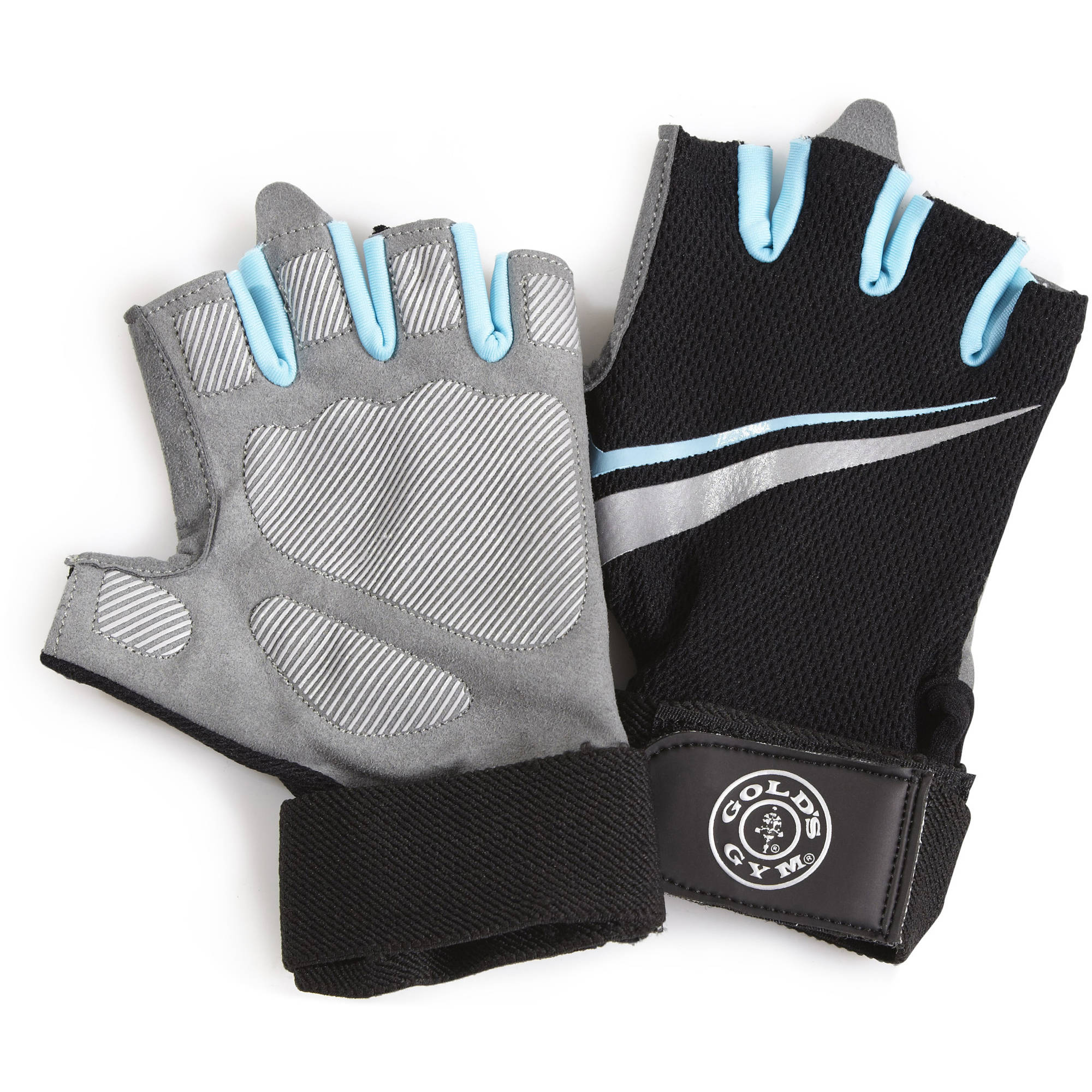Gold's Gym Women's Tacky Gloves with Wrist Strap