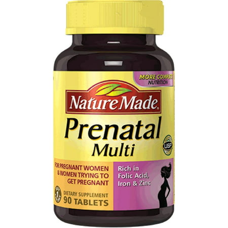 Nature Made multi vitamine prénatale Comprimés 90 ch
