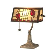 Dale Tiffany Henderson Bankers Accent Lamp
