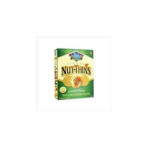 Blue Diamond Nut Chips Sea Salt 4. 25 Oz, Pack of 12