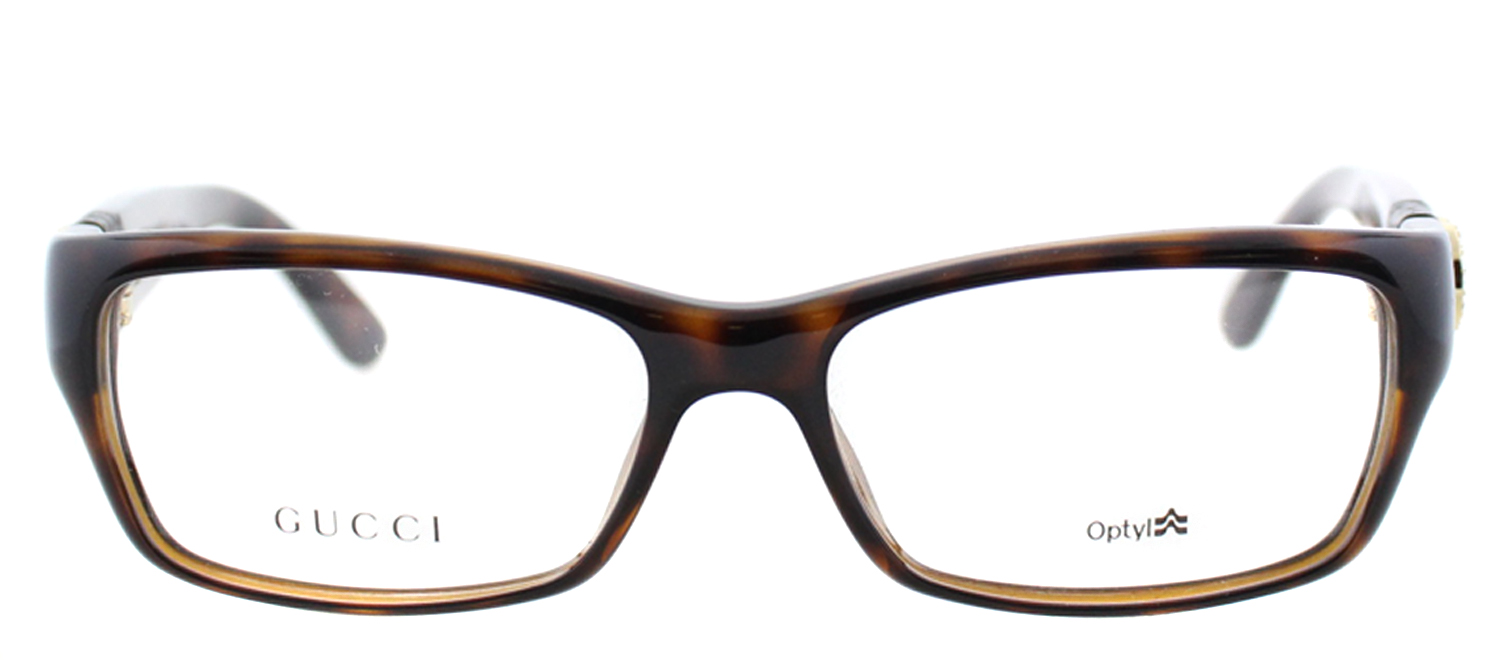 3c486dd841f Gucci GG3773 U Z3Q 53mm Women s Rectangular Eyeglasses - Walmart.com