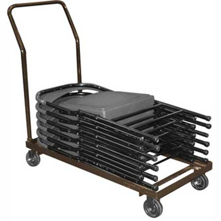 Chair Cart For Folding Chairs - Horizontal Stack - 36 Chair Capacity, Lot of 1 ()