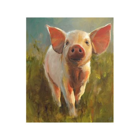 Morning Pig Print Wall Art By Cari J. Humphry for $<!---->