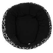 Black L Soft Sofa Shaped Warm Dog Cat Kitten Puppy Pet Bed Cushion Mat Basket House