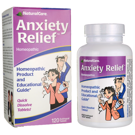 NaturalCare Anxiety Relief 120 Tabs