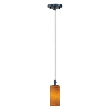 Maxim-Lighting-Carte-1-light-LED-Bronze-Single-Pendant
