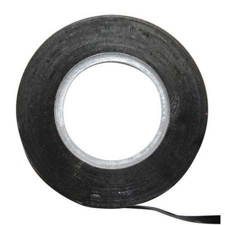 Magna visual ct4 b chart tape black 1 8 in wide walmart com