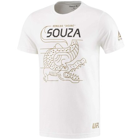 Reebok Men Ronaldo Souza Fighter Tee