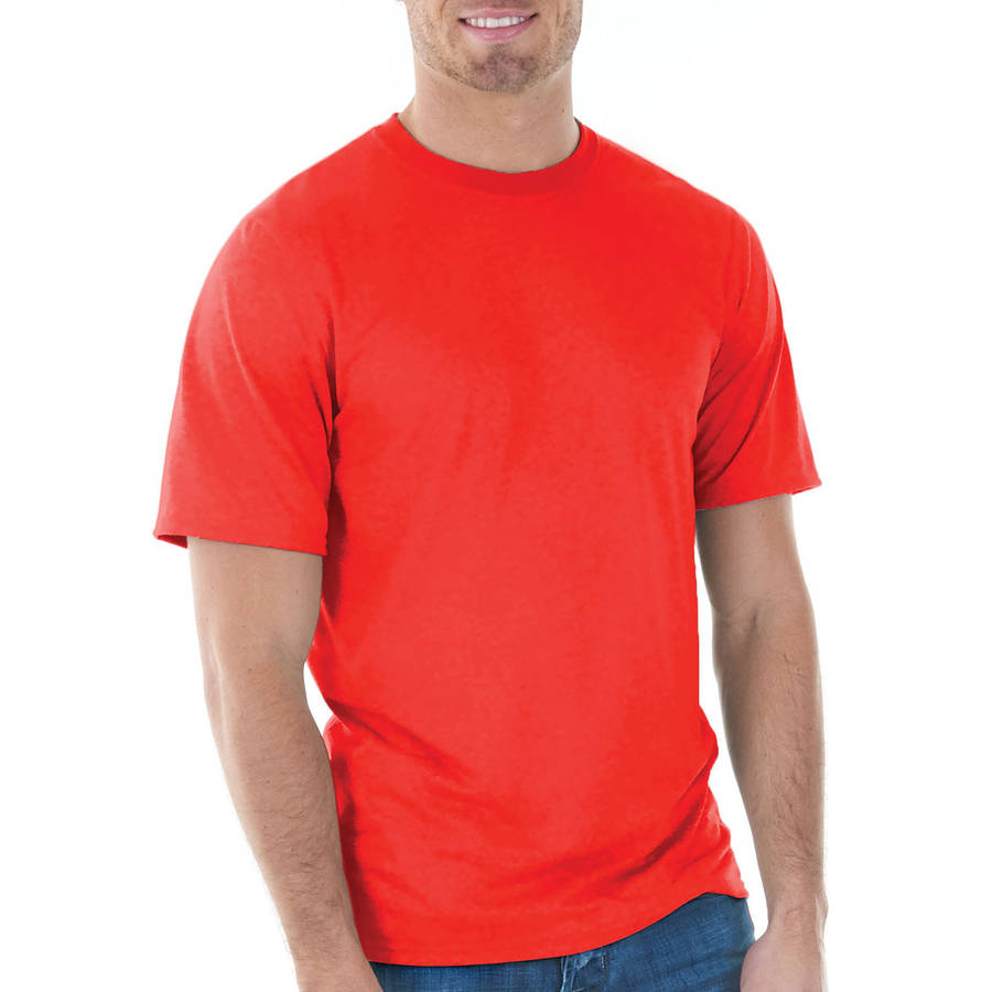 Hanes - Mens Tagless Cotton Crew Neck Long-Sleeve Tshirt - Walmart.com 94c1720ddb5