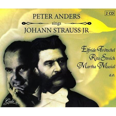 Sings Johann Strauss JR (CD) ()
