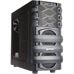 "In Win MANA 134 System Cabinet - Mid-tower - Steel - 11 x Bay - 1 x Fan(s) Installed - ATX, Micro ATX Motherboard Supported - 7 x Fan(s) Supported - 3 x External 5.25"" Bay - 6 x Internal"