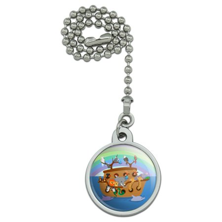 Noah's Ark with Animals Ceiling Fan and Light Pull Chain