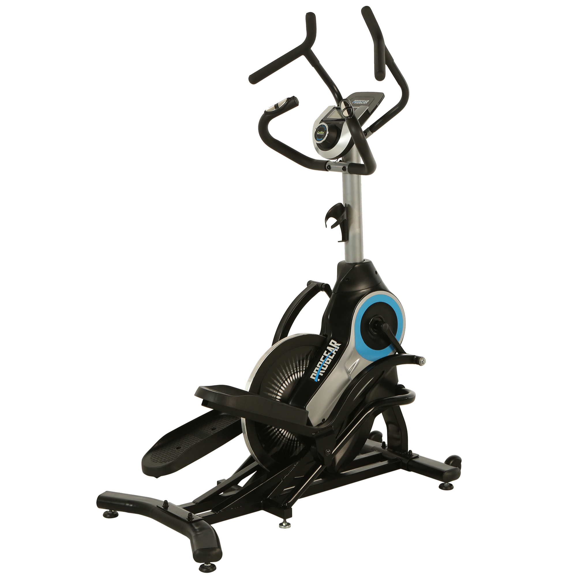 PROGEAR Bluetooth Smart Fitness Crossover Stepper/ Elliptical Trainer