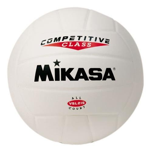 Mikasa VSL215 Competitive Class Indoor/Outdoor Volleyball, Pink