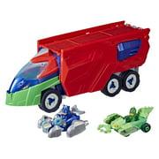 PJ Masks PJ Launching Seeker Preschool Toy, Transforming PJ Seeker Play Vehicle Playset, Ages 3 and Up