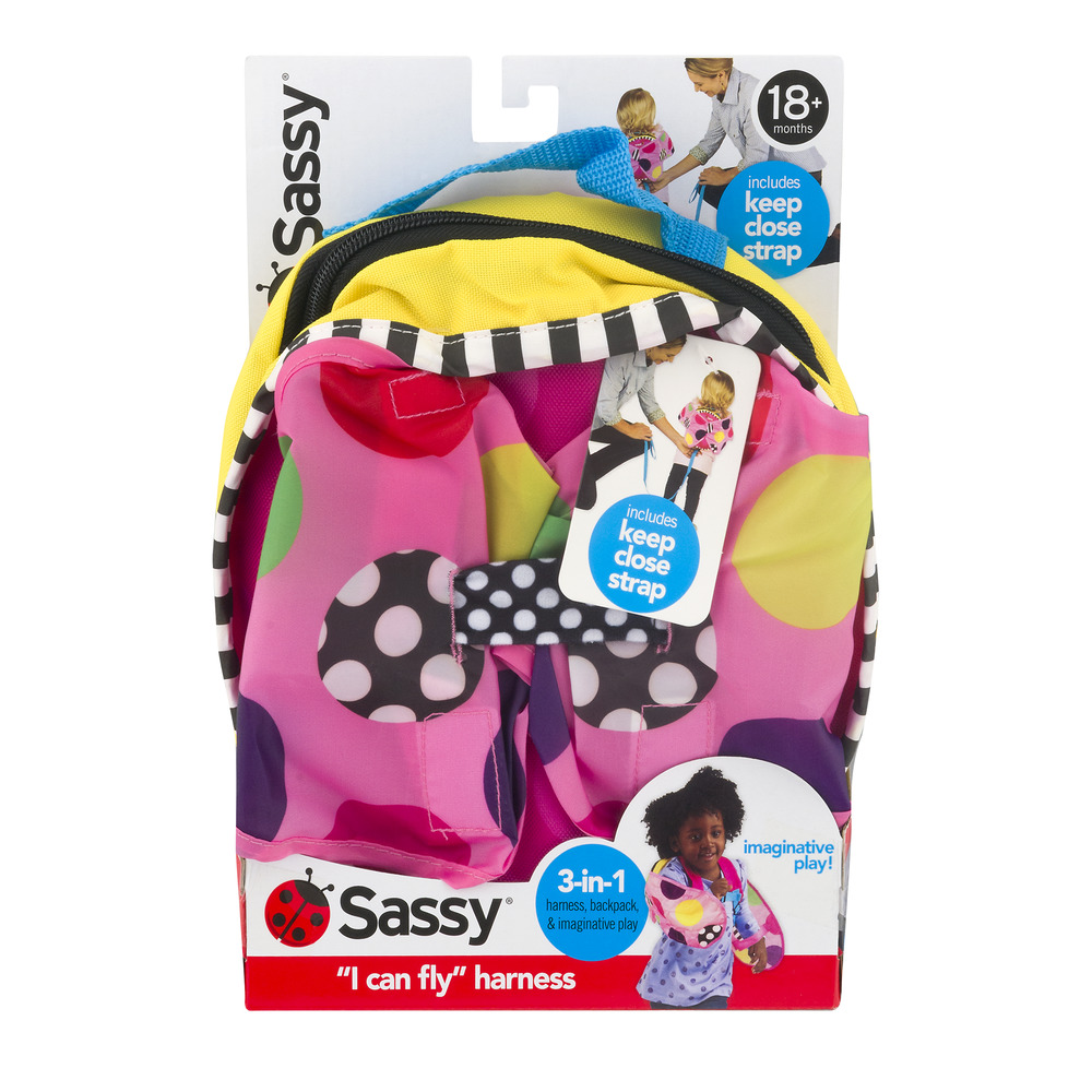 Sassy Backpack and Harness System, Girl