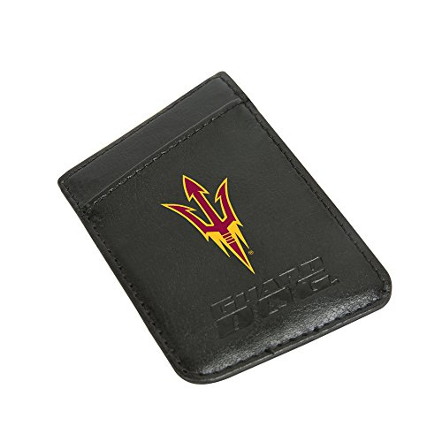 Arizona State Sun Devils Card Keeper Leather Phone Wallet with RFID Protection