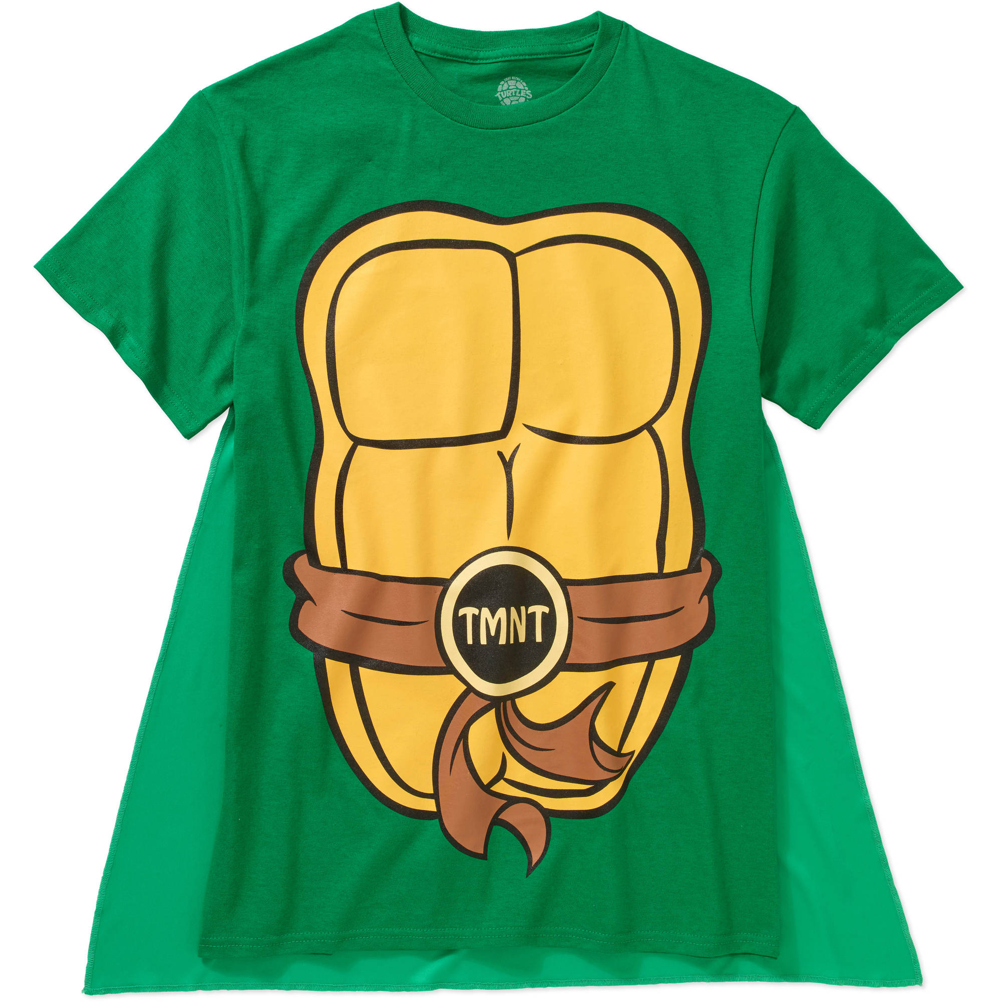 Teenage Mutant Ninja Turtles Big Men's Cape Tee, 2XL