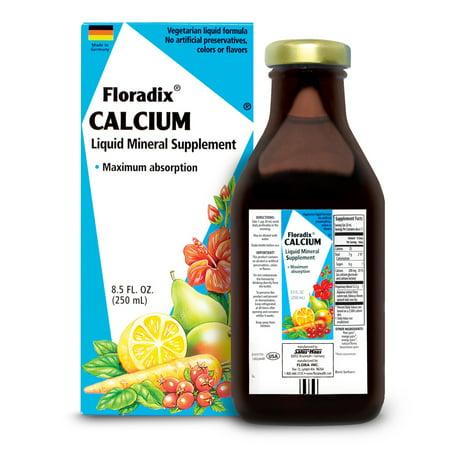 Salus-Haus Calcium Liquid 8.5 Oz