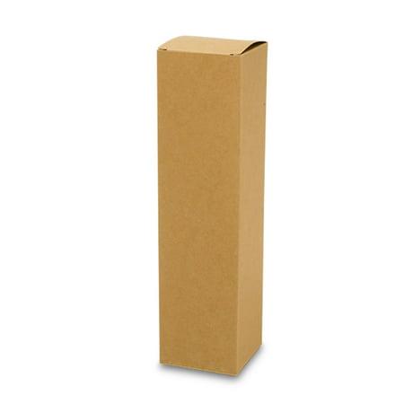 Kraft One Bottle Wine Box | Quantity: 10 | Width: 3 1/2
