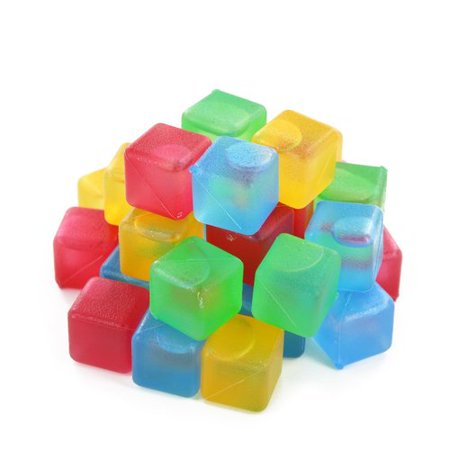 Symple Stuff Kanter Reusable Plastic Ice Cube Tray (Set of 32)