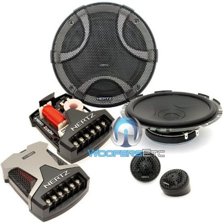 Esk F165 5   Hertz 6 5  270W Peak 2 Way Shallow Depth Component Speaker System