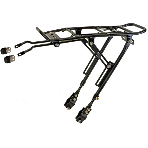 M-Wave Alloy One-4-All Bicycle Carrier Rack (Black)