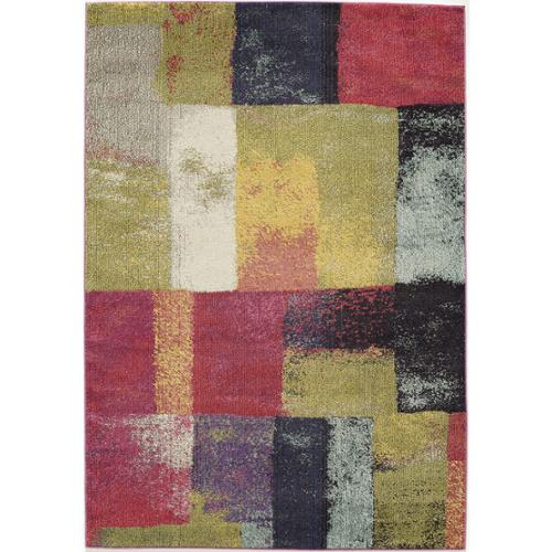 Momeni Abode Multi Power-Loomed Cube Rug (2' x 3') by Overstock