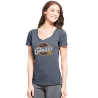 Cleveland Cavaliers '47 Women's Shift High Point Ribbed T-Shirt - Navy