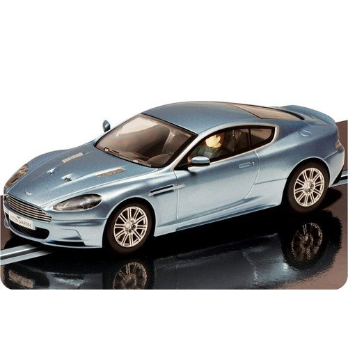 Scalextric Aston Martin DBS Street Car in Light Blue