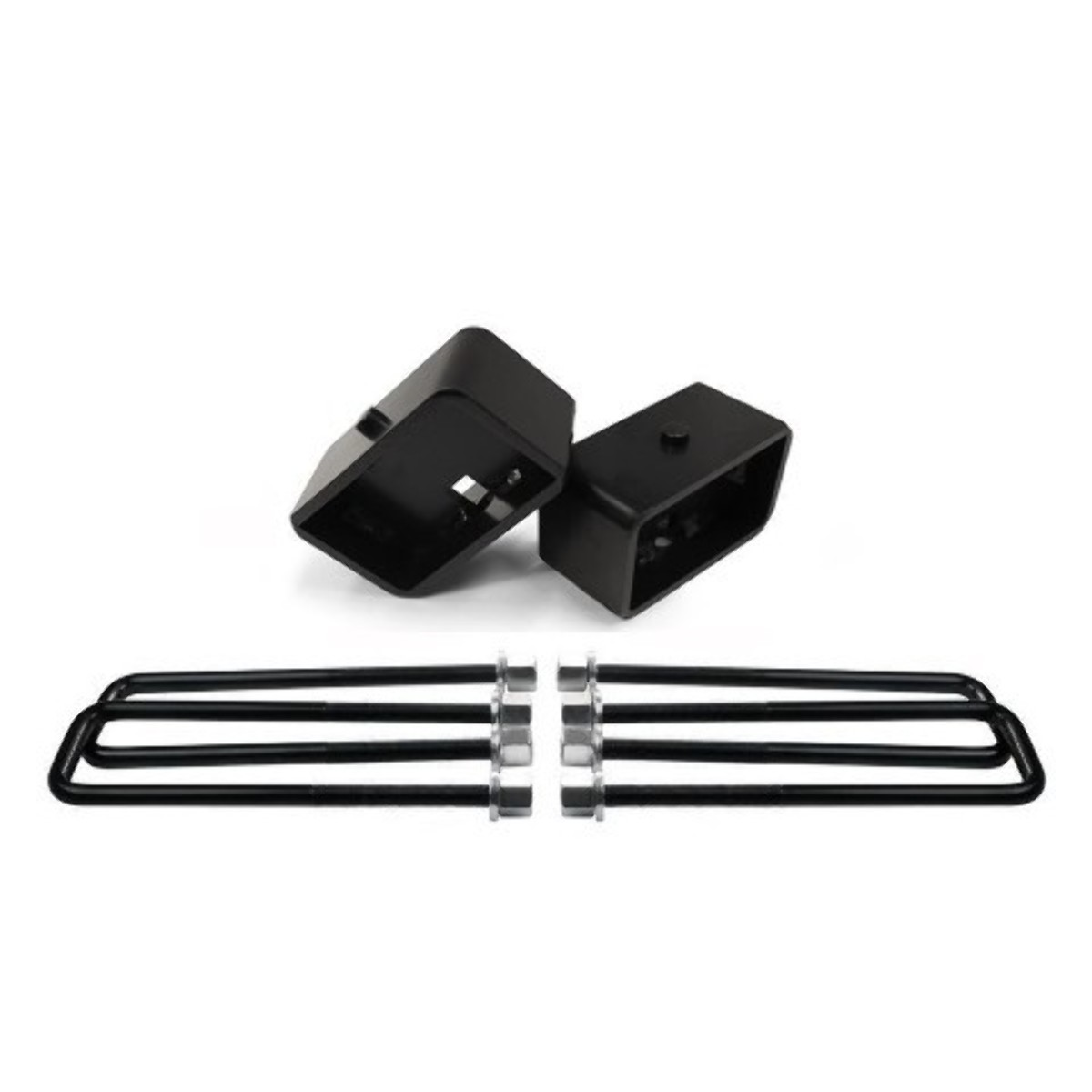 """Details about  /99-20 Tundra 2.5/"""" Rear Suspension Lift Steel Blocks Extra Long 10/"""" U Bolts"""