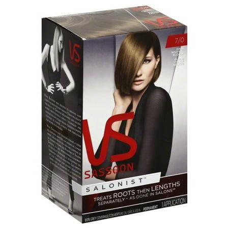 P & G Vidal Sassoon  Permanent Hair Color, 1 ea