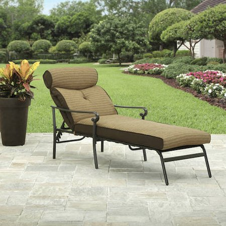 Better homes and gardens bailey ridge chaise for Better homes and gardens hillcrest outdoor chaise lounge