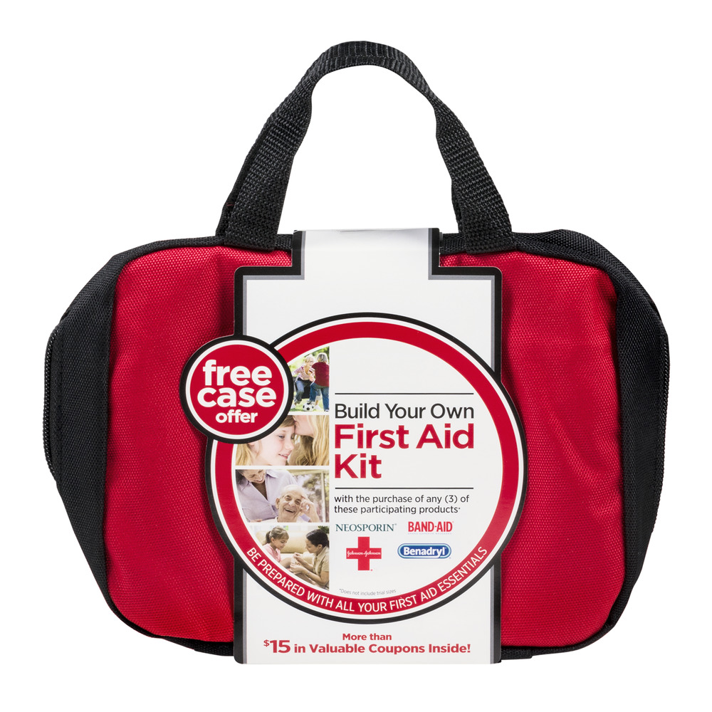 Johnson & Johnson Build Your Own First Aid Kit, 1.0 CT