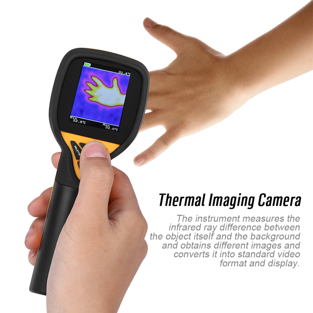 HT-175 IR Infrared Thermal IMaging Camera -20~300 Degree Celsius 32*32 Resolution, Thermal IMaging Camera, Thermographic... by