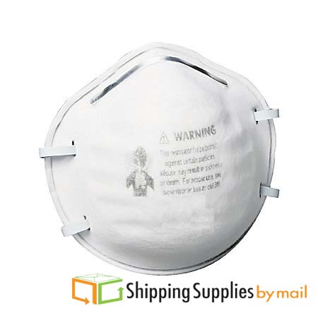 White Standard Respirator Compatible and Adjustable 300 Pieces by Shield Safety