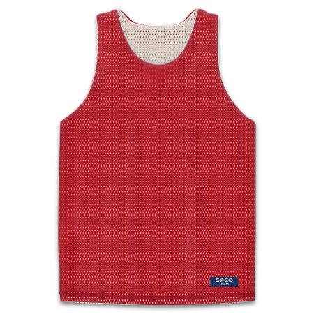 8b06d4dc92b GOGO TEAM - GOGO TEAM Big Boys' Tank Top, Reversible Basketball Jerseys,  YS-YL-Red/White-YM - Walmart.com