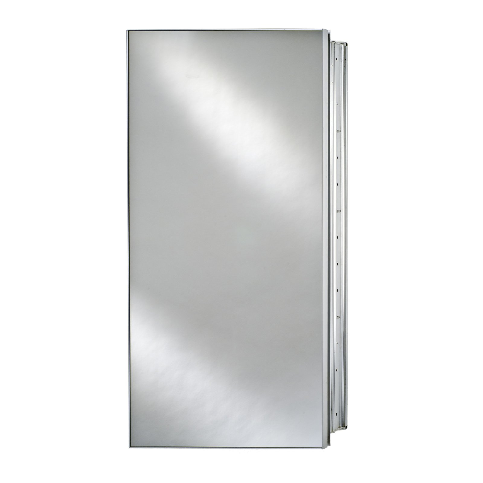 Afina Broadway Surface Mount Single Door Medicine Cabinet - 15W x 4D x 30H in.