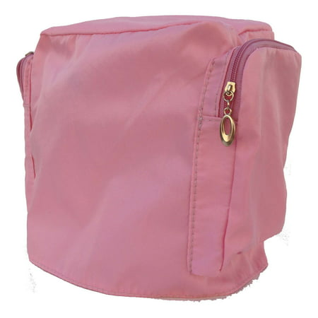 Pink Fabric Cover for Michley LSS-202 Sewing Machine Protect your LSS-202 sewing machine from dust with the Pink Fabric Cover for Michley LSS-202 Sewing Machine, which includes two pockets for storing accessories.