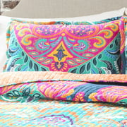 Boho Chic 3 Piece Bedding Quilt Set Image 2 Of