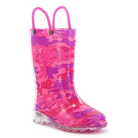 Glitter Horse Lighted Child Rainboot (Glitter Boots)
