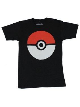 0e6cebb896cb29 Product Image Pokemon (Nintendo) Mens T-Shirt - Basic Pokeball Image