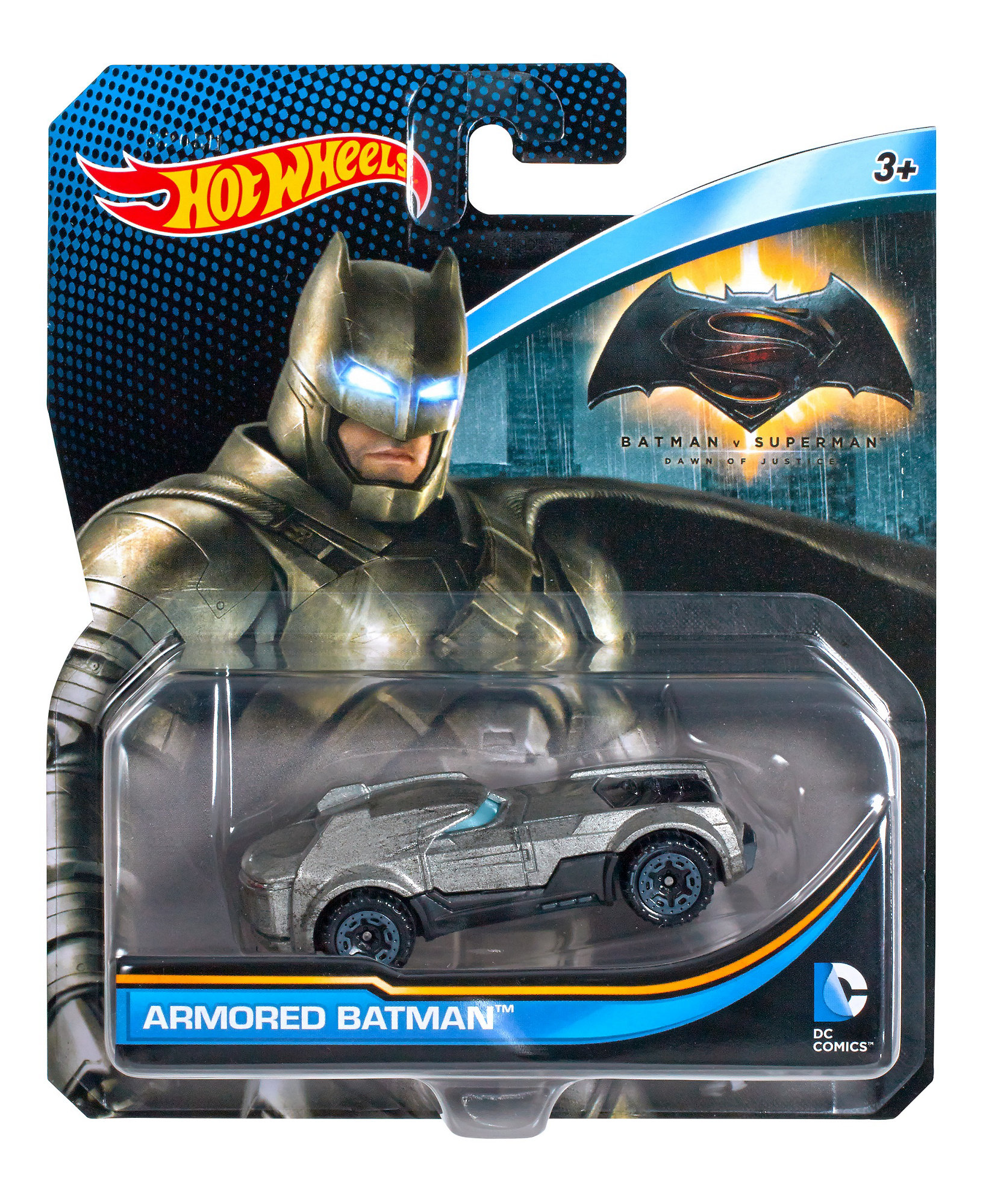DC Universe Hot Wheels Armored Batman Vehicle by Mattel