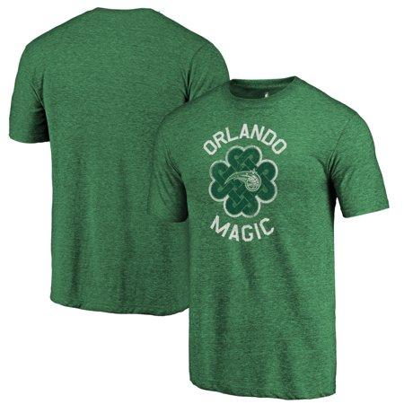 Orlando Magic Fanatics Branded St. Patrick's Day Luck Tradition Tri-Blend T-Shirt -