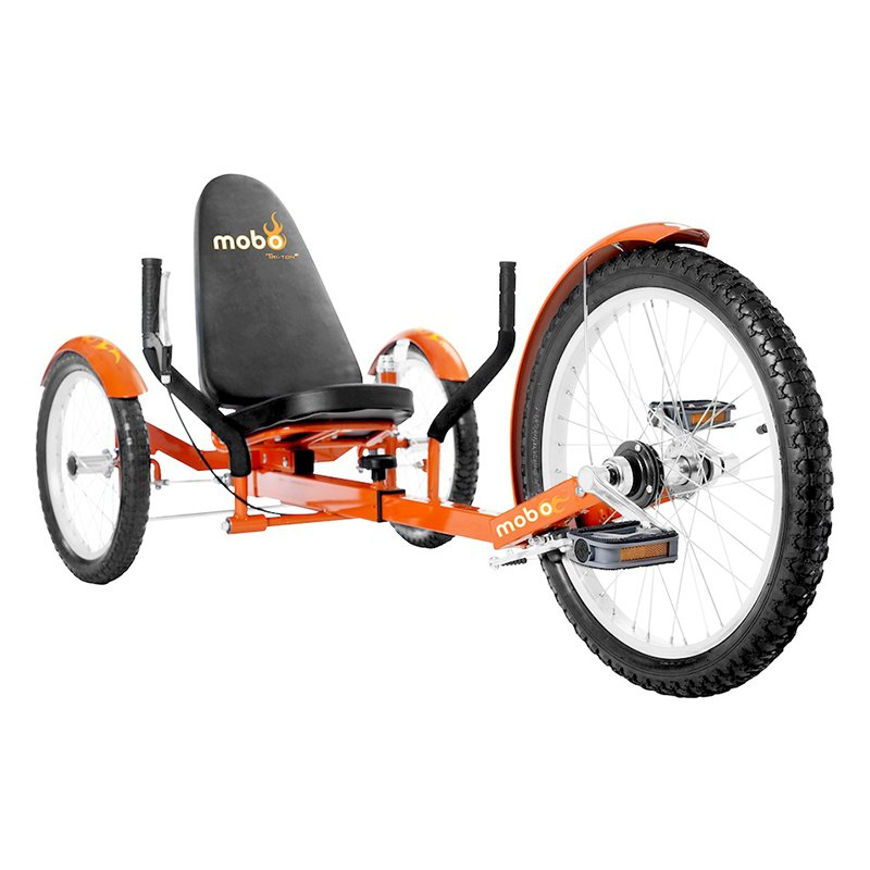 Mobo Triton Pro 20 in. Adult The Ultimate Three Wheeled Cruiser Recumbent Bicycle by ASA Products Inc
